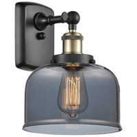 Innovations Lighting 916-1W-BAB-G73 Large Bell 1 Light 8 inch Black Antique Brass Sconce Wall Light