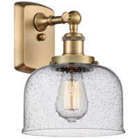 Innovations Lighting 916-1W-BB-G74 Large Bell 1 Light 8 inch Brushed Brass Sconce Wall Light