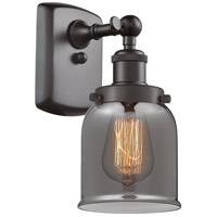 Innovations Lighting 916-1W-OB-G53 Small Bell 1 Light 5 inch Oil Rubbed Bronze Sconce Wall Light Ballston