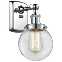 Innovations Lighting 916-1W-PC-G202-6 Beacon 1 Light 6 inch Polished Chrome Sconce Wall Light Ballston