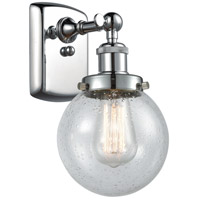 Innovations Lighting 916-1W-PC-G204-6-LED Beacon LED 6 inch Polished Chrome Sconce Wall Light Ballston