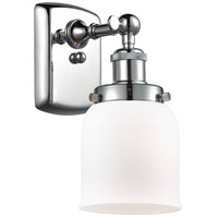 Innovations Lighting 916-1W-PC-G51 Small Bell 1 Light 5 inch Polished Chrome Sconce Wall Light Ballston