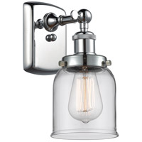 Innovations Lighting 916-1W-PC-G52 Small Bell 1 Light 5 inch Polished Chrome Sconce Wall Light Ballston