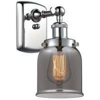 Innovations Lighting 916-1W-PC-G53 Small Bell 1 Light 5 inch Polished Chrome Sconce Wall Light Ballston