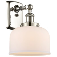 Innovations Lighting 916-1W-PN-G71 Large Bell 1 Light 8 inch Polished Nickel Sconce Wall Light