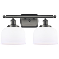 Innovations Lighting 916-2W-OB-G71 Large Bell 2 Light 16 inch Oil Rubbed Bronze Bath Vanity Light Wall Light Ballston