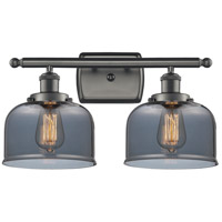 Innovations Lighting 916-2W-OB-G73 Large Bell 2 Light 16 inch Oil Rubbed Bronze Bath Vanity Light Wall Light Ballston