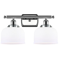 Innovations Lighting 916-2W-PC-G71 Large Bell 2 Light 16 inch Polished Chrome Bath Vanity Light Wall Light Ballston