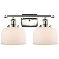 Innovations Lighting 916-2W-PN-G71 Large Bell 2 Light 16 inch Polished Nickel Bath Vanity Light Wall Light