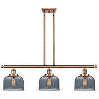 Innovations Lighting 916-3I-AC-G73 Large Bell 3 Light 36 inch Antique Copper Island Light Ceiling Light