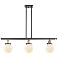 Innovations Lighting 916-3I-BAB-G201-6 Beacon 3 Light 36 inch Black Antique Brass Island Light Ceiling Light