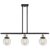 Innovations Lighting 916-3I-BAB-G202-6 Beacon 3 Light 36 inch Black Antique Brass Island Light Ceiling Light