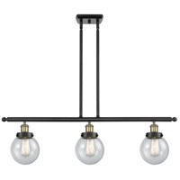 Innovations Lighting 916-3I-BAB-G204-6 Beacon 3 Light 36 inch Black Antique Brass Island Light Ceiling Light