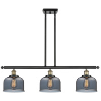 Innovations Lighting 916-3I-BAB-G73-LED Large Bell LED 36 inch Black Antique Brass Island Light Ceiling Light