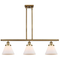 Innovations Lighting 916-3I-BB-G41 Large Cone 3 Light 36 inch Brushed Brass Island Light Ceiling Light