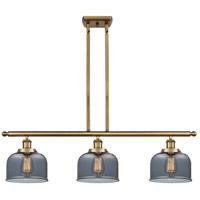 Innovations Lighting 916-3I-BB-G73 Large Bell 3 Light 36 inch Brushed Brass Island Light Ceiling Light