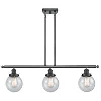 Innovations Lighting 916-3I-BK-G204-6-LED Beacon LED 36 inch Matte Black Island Light Ceiling Light Ballston