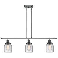 Innovations Lighting 916-3I-BK-G54-LED Small Bell LED 36 inch Matte Black Island Light Ceiling Light Ballston