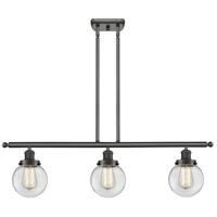 Innovations Lighting 916-3I-OB-G202-6-LED Beacon LED 36 inch Oil Rubbed Bronze Island Light Ceiling Light Ballston