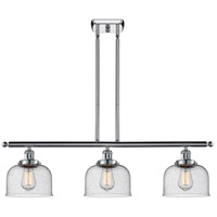 Innovations Lighting 916-3I-PC-G74-LED Large Bell LED 36 inch Polished Chrome Island Light Ceiling Light Ballston