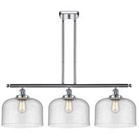 Innovations Lighting 916-3I-PC-G74-L-LED X-Large Bell LED 36 inch Polished Chrome Island Light Ceiling Light Ballston