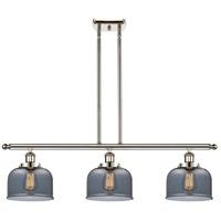 Innovations Lighting 916-3I-PN-G73 Large Bell 3 Light 36 inch Polished Nickel Island Light Ceiling Light