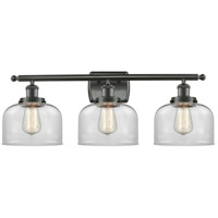 Innovations Lighting 916-3W-OB-G72 Large Bell 3 Light 26 inch Oil Rubbed Bronze Bath Vanity Light Wall Light Ballston