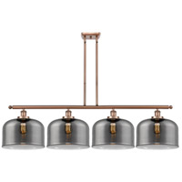 Innovations Lighting 916-4I-AC-G73-L-LED X-Large Bell LED 48 inch Antique Copper Island Light Ceiling Light