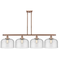 Innovations Lighting 916-4I-AC-G74-L X-Large Bell 4 Light 48 inch Antique Copper Island Light Ceiling Light