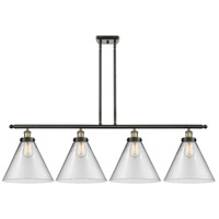Innovations Lighting 916-4I-BAB-G42-L X-Large Cone 4 Light 48 inch Black Antique Brass Island Light Ceiling Light