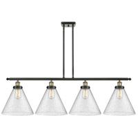 Innovations Lighting 916-4I-BAB-G44-L X-Large Cone 4 Light 48 inch Black Antique Brass Island Light Ceiling Light
