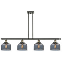 Innovations Lighting 916-4I-BAB-G73 Large Bell 4 Light 48 inch Black Antique Brass Island Light Ceiling Light