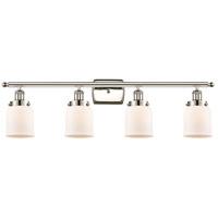 Innovations Lighting 916-4W-PN-G51-LED Small Bell LED 36 inch Polished Nickel Bath Vanity Light Wall Light