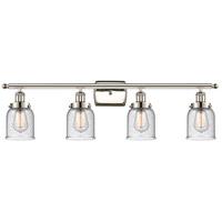 Innovations Lighting 916-4W-PN-G54-LED Small Bell LED 36 inch Polished Nickel Bath Vanity Light Wall Light