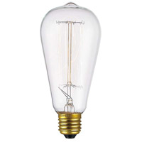 Innovations Lighting BB-60-A Bulbs Incandescent ST-18 Medium Base 60 watt 120V 2200K Incandescent Light Bulb