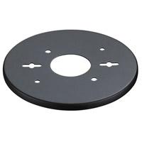 Innovations Lighting BP-5-BK Backplate Matte Black Vanity Plate