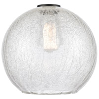 Innovations Lighting G125-10 Large Athens Clear Crackle Large Athens 10 inch Glass Ballston