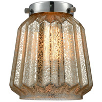 Innovations Lighting G146 Chatham Mercury Fluted 6 inch Glass