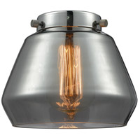 Innovations Lighting G173 Fulton Plated Smoke Fulton 7 inch Glass Franklin Restoration