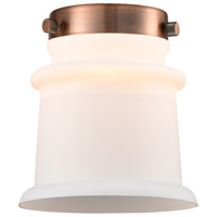 Innovations Lighting G181S Small Canton Matte White Small Canton 6 inch Glass Franklin Restoration