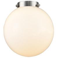 Innovations Lighting G201-8 Large Beacon Cased Matte White Large Beacon 8 inch Glass Ballston