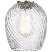 Innovations Lighting G292 Salina Clear Spiral Fluted Salina 6 inch Glass, Ballston photo thumbnail