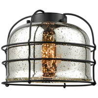 Innovations Lighting G78-CE Large Bell Cage Silver Plated Mercury 8 inch Glass
