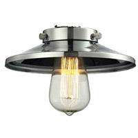 Innovations Lighting M1 Signature Polished Nickel 8 inch Glass