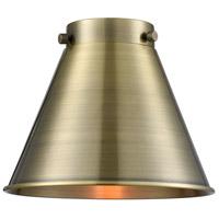 Innovations Lighting M13-AB Appalachian Antique Brass Appalachian 8 inch Metal Shade Franklin Restoration