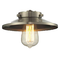 Innovations Lighting M2 Signature Brushed Satin Nickel 8 inch Glass