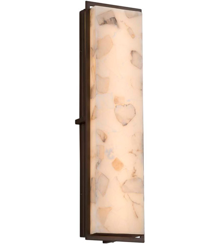 Bronze Alabaster Wall Sconces