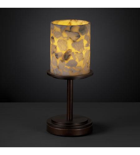 Justice Design Alr 8798 10 Dbrz Alabaster Rocks 12 Inch 60 Watt Dark