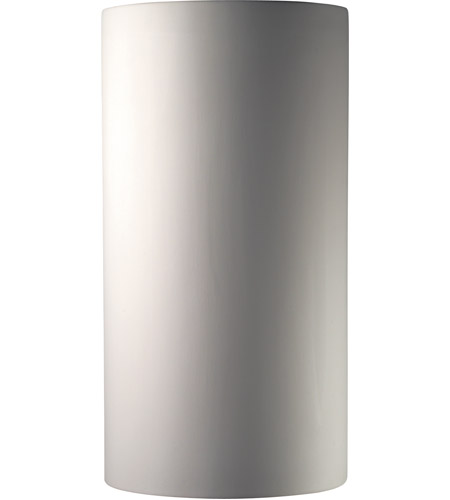 Justice Design Group Ambiance Really Big Cylinder Wall Sconce in Bisque CER-1160-BIS photo