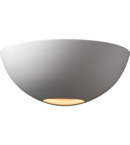 Justice Design CER-1320-BIS Ambiance 1 Light 11 inch Bisque Wall Sconce Wall Light photo